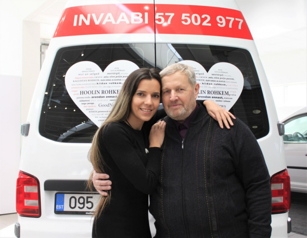 Monika Kuzmina ja Ants Väärsi