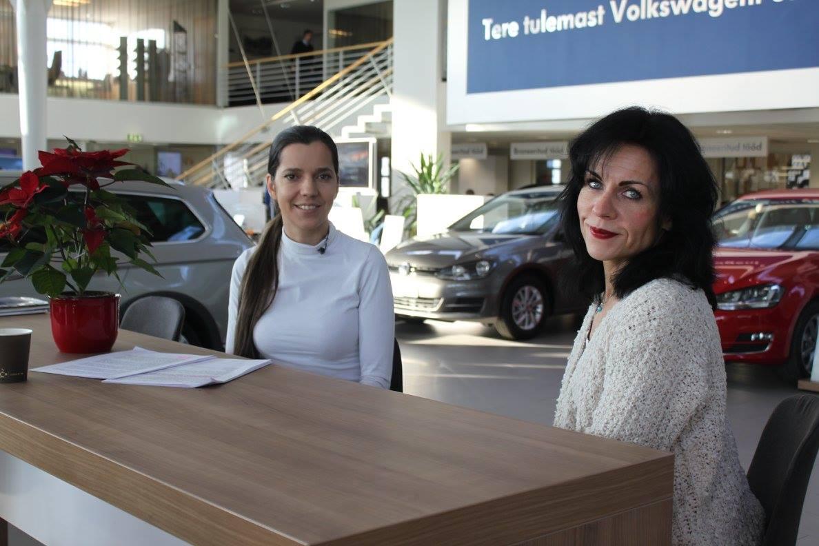 Monika Kuzmina ja Riina Reiman