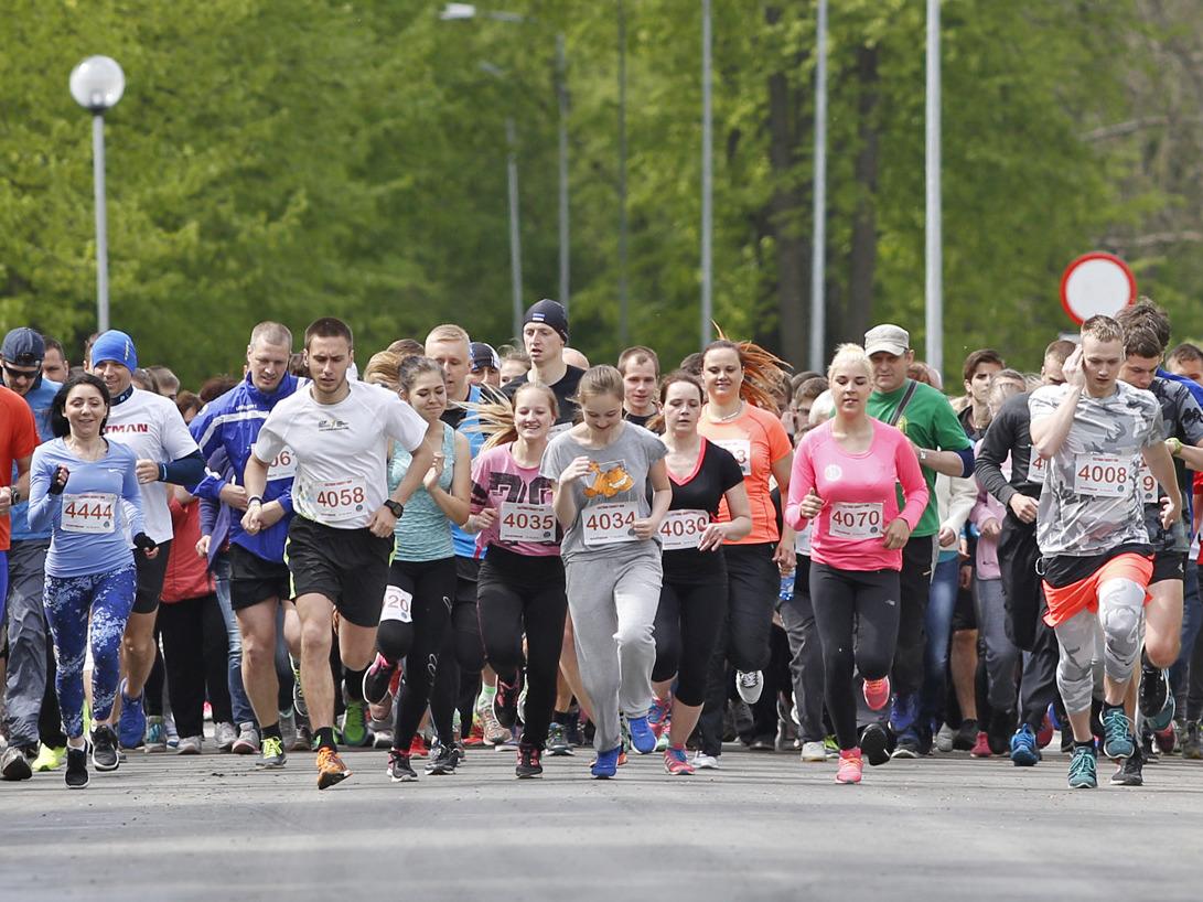 Hea uudis! Kohtla-Järvel toetatakse heategevusliku jooksuga haigete lastega peresid