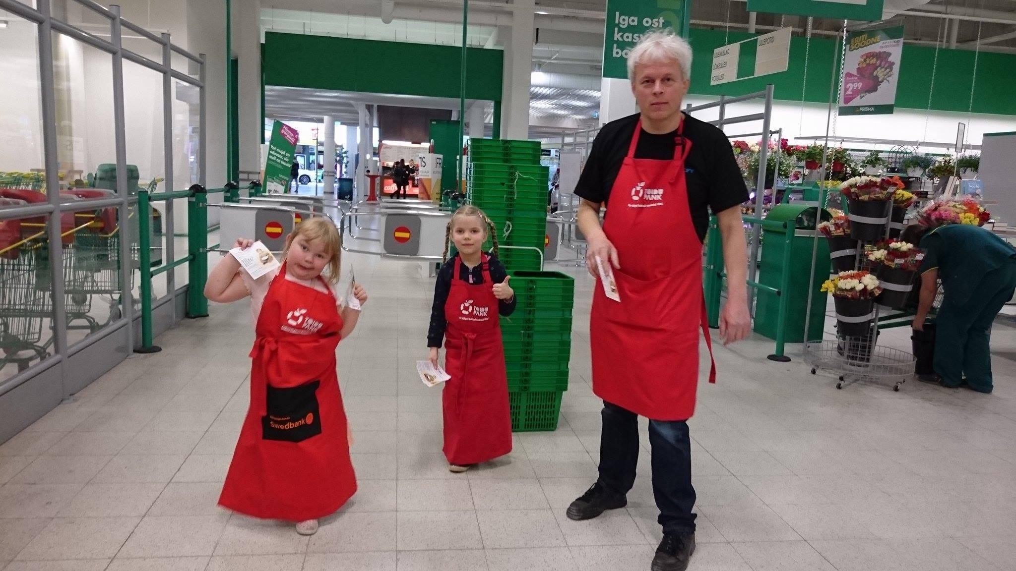 Aitäh vabatahtlikele! Toidupanga toidukogumispäevadel koguti üle 29 000 kilo toidukaupa
