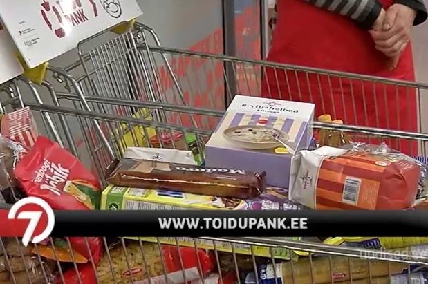 Video! Toidupank ootab vabatahtlikke abikäsi