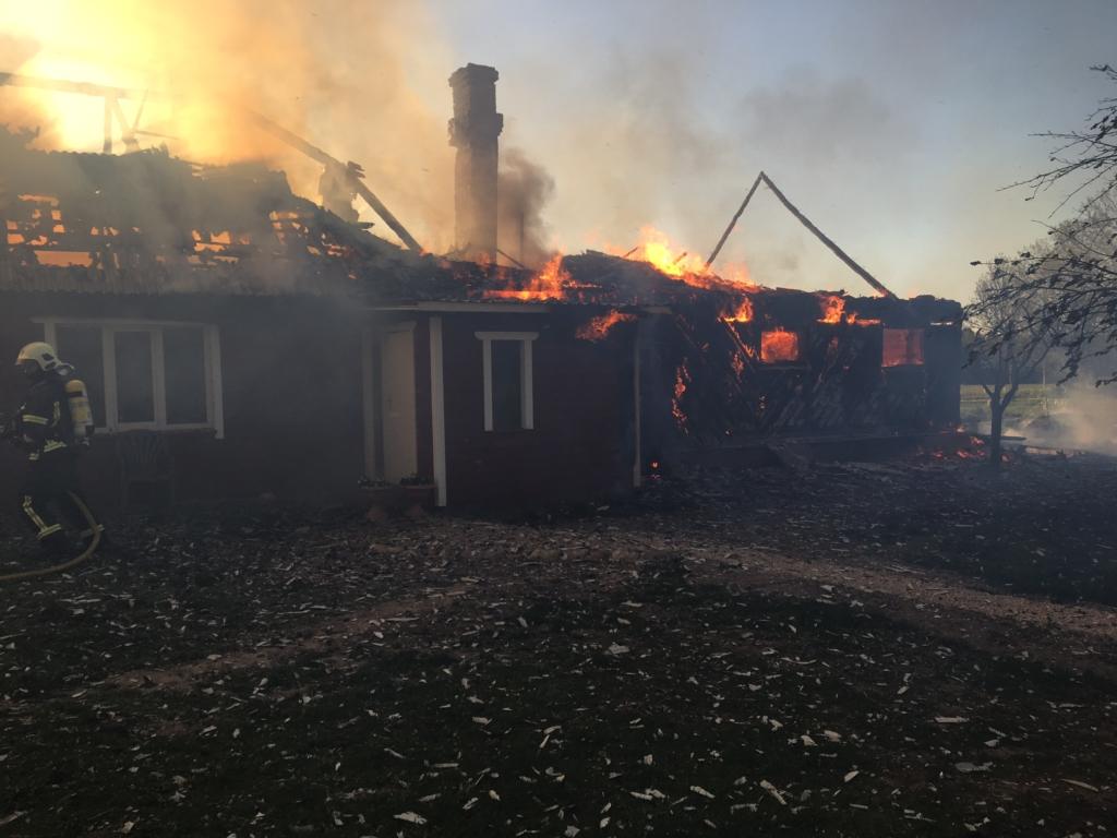 Heategevuse edendaja Luule Väin: Abistagem tulekahju tõttu kannatada saanud tublit maaperet