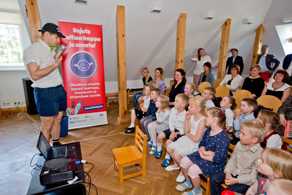 Eestlane on lahke! Laste kultuurielamuste heaks on annetatud üle 550 000 euro