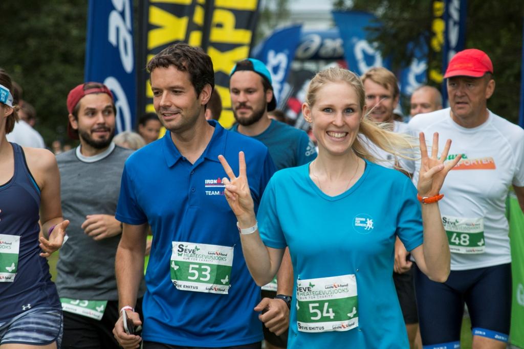 Rahvusvahelise triatlonifestivali raames toimub taaskord heategevusjooks Lastefondi toetuseks