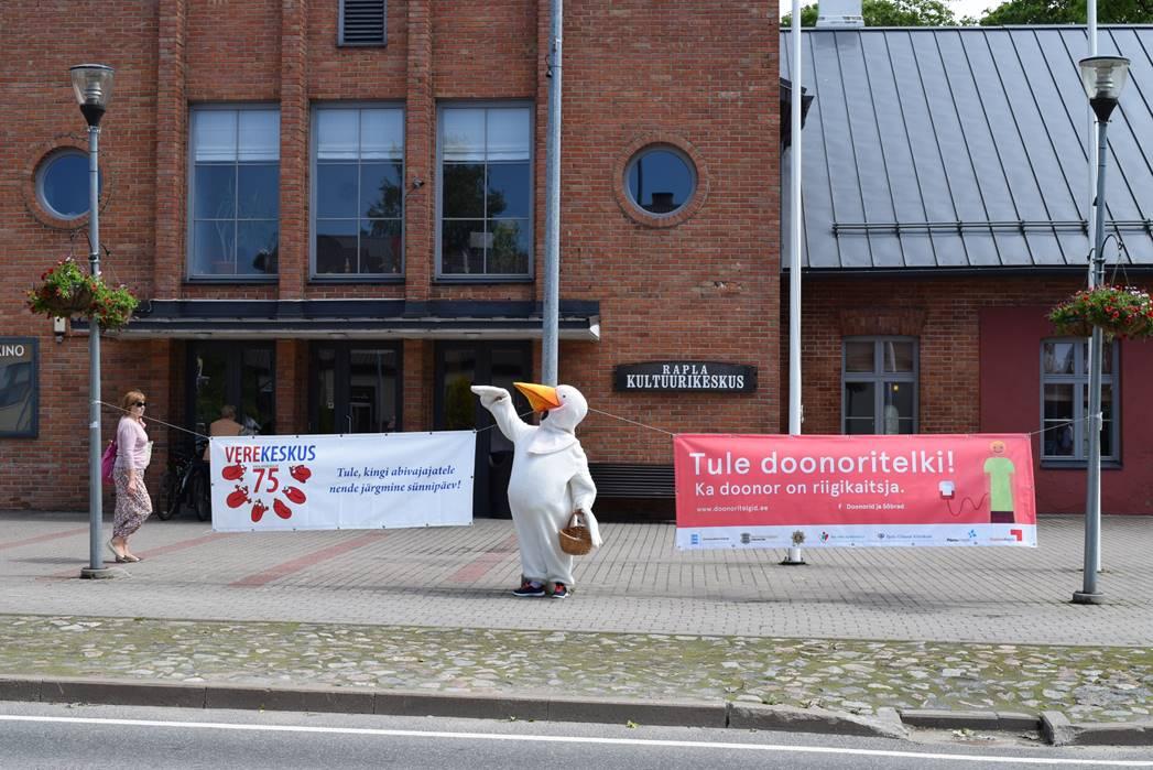 Verekeskus kutsub Raplamaa inimesi doonoritelkidesse verd annetama