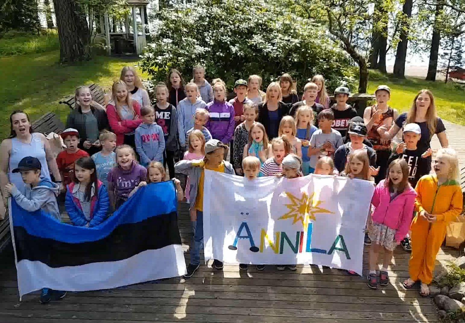 VIDEO! Soomes elavad Eesti lapsed ootavad abi oma laagripaiga rajamiseks