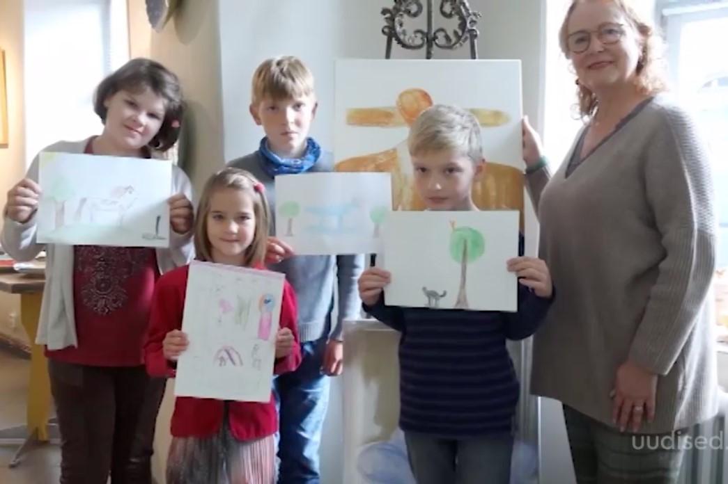 VIDEO! Lasterikaste perede lapsed saavad oktoobris kunstiga tutvust teha