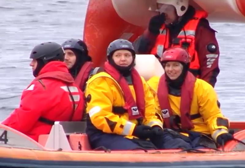 VIDEO! Vabatahtlikud päästjad Tairi ja Reelika: inimese paati tõstmine on õigete võtete korral väga kerge