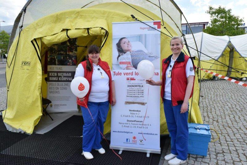 DOONORID, TEID ON VÄGA VAJA! Rakverelased, eriti oodatud on A ja B-reesusnegatiivsete doonorite veri!