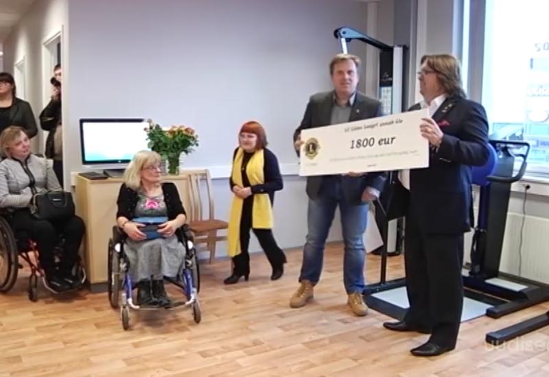 ANNETAJATE ABIGA! Tallinnas avati kaasaegne Liikumispuudega Inimeste Liidu rehabilitatsioonikeskus