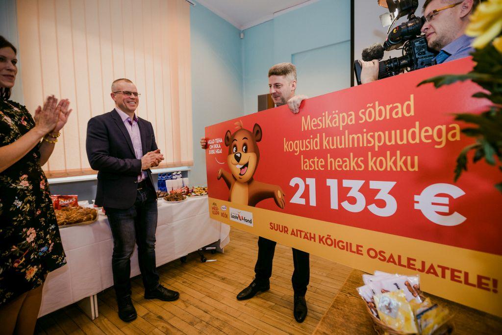 IMELINE! Kurtide laste kuulmise toetuseks koguti üle 21 000 euro