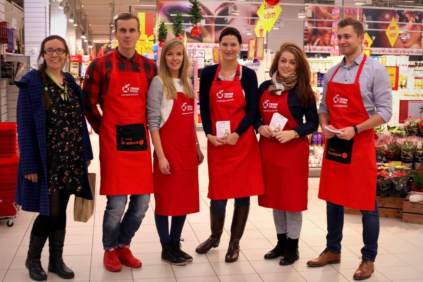 Toidupoodides toimuvad Toidupankade jõulukuised toidukogumispäevad