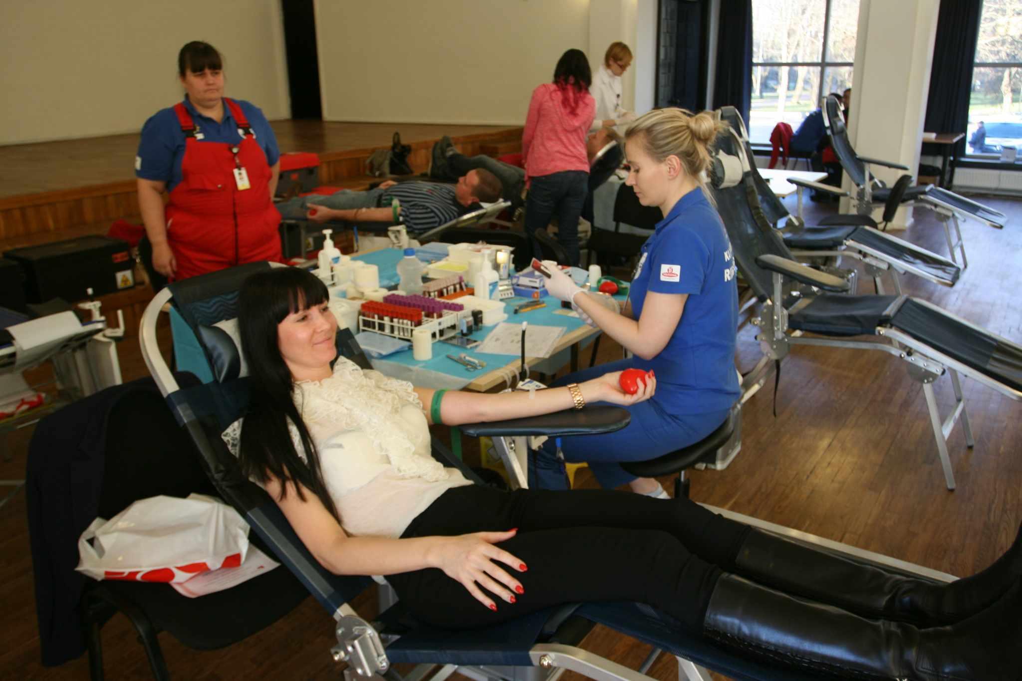 Verekeskus ootab kõiki läänlasi doonoripäevale