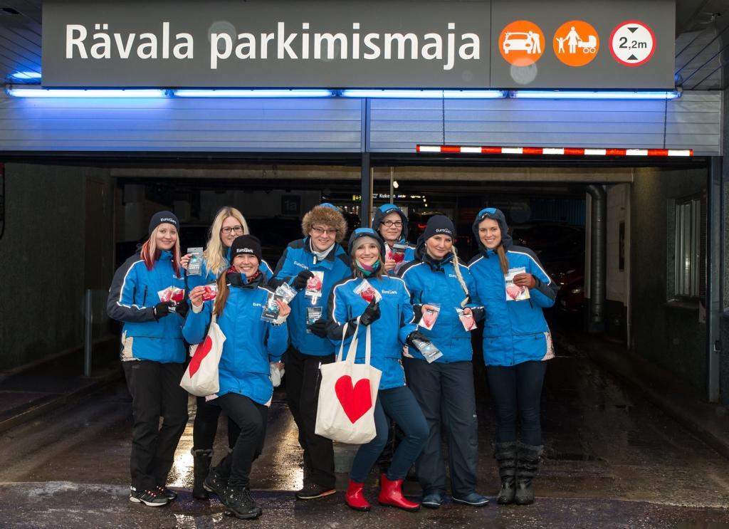 HEA TEGU! Eesti Vabariigi sünnipäeval EuroPark väliparklates parkimisi ei kontrollita