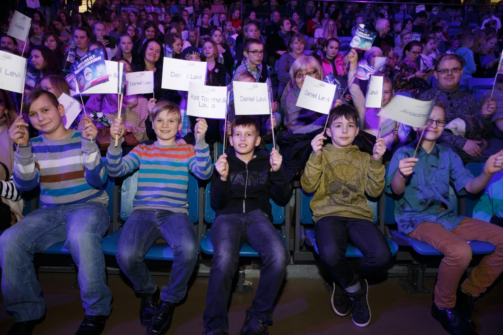 Heategevusfond Aitan Lapsi toob 1500 last Eesti Laulu peaproovi