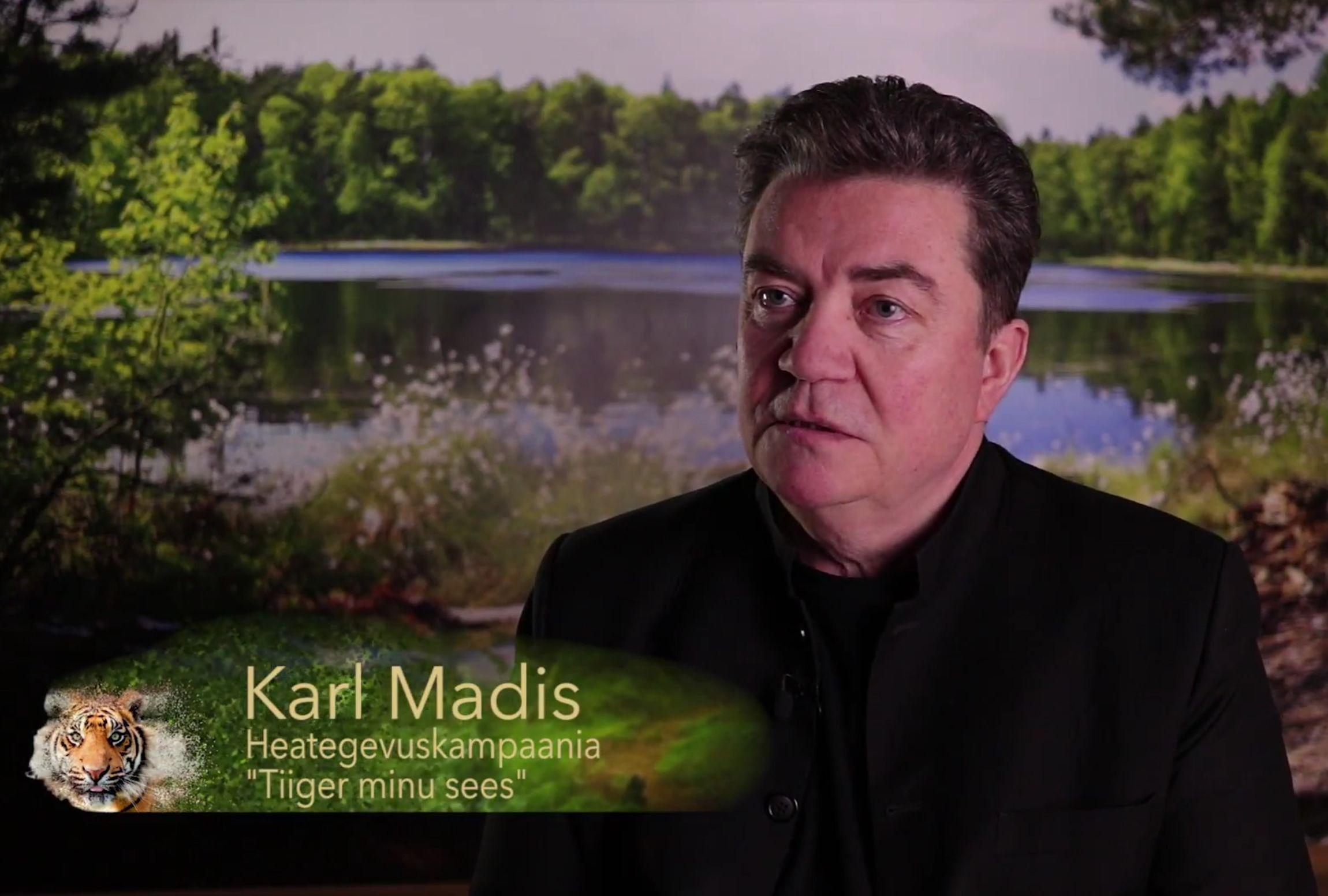 """VIDEO! """"Tiiger minu sees!"""": ülekohut näinud Karl Madises tõstis pead tiiger ja mees läks ihuüksinda olukorda lahendama"""