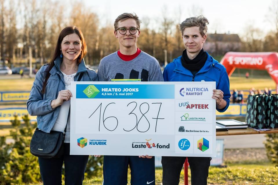 VIDEO! Heateo jooks kogub raha ravikodus elavatele psüühikahäiretega lastele
