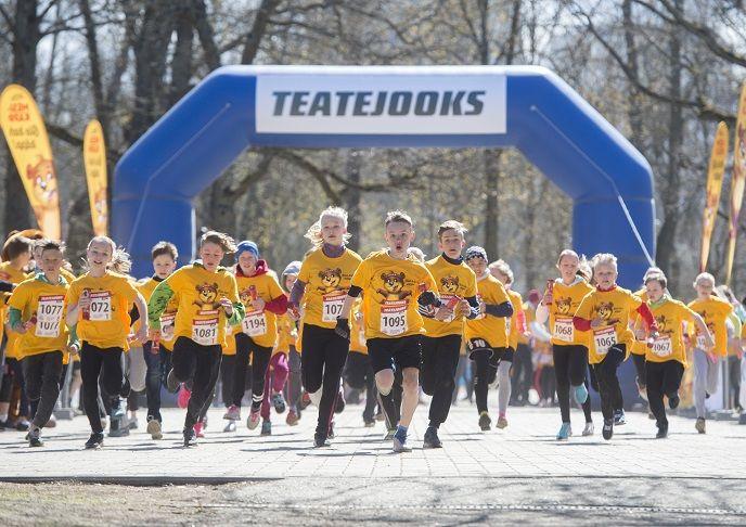 Täna jookseb rohkem kui 12 000 last heategevuse nimel