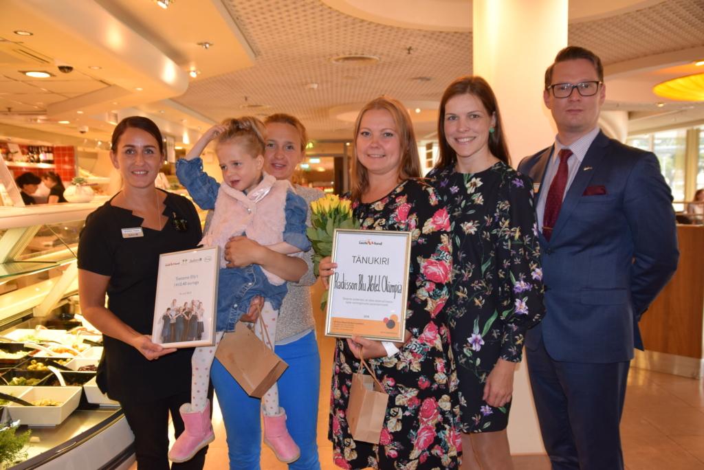 Haruldase sündroomiga Elly toetuseks koguti üle 1400 euro