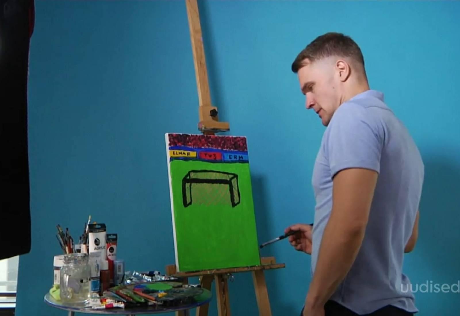 VIDEO! Ott Lepland maalis heategevuseks jalgpallimängu