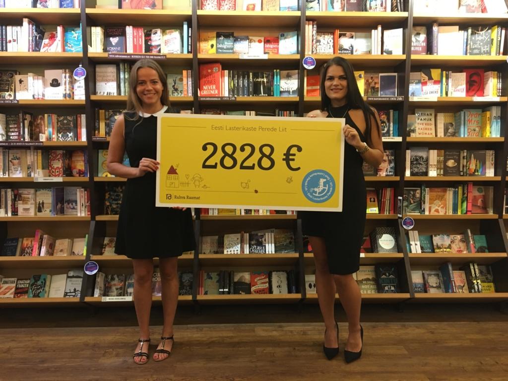 """Heategevuskampaaniaga """"Lapsed loevad"""" koguti 2828 eurot lasterikastele peredele raamatute ostmiseks"""