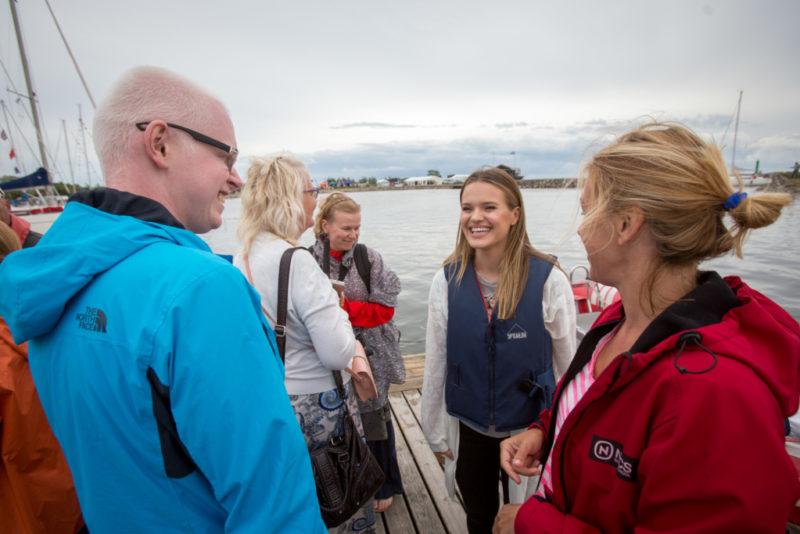 Getter Jaani ja Töötukassa vabatahtlikud rõõmustasid erivajadustega purjetajaid
