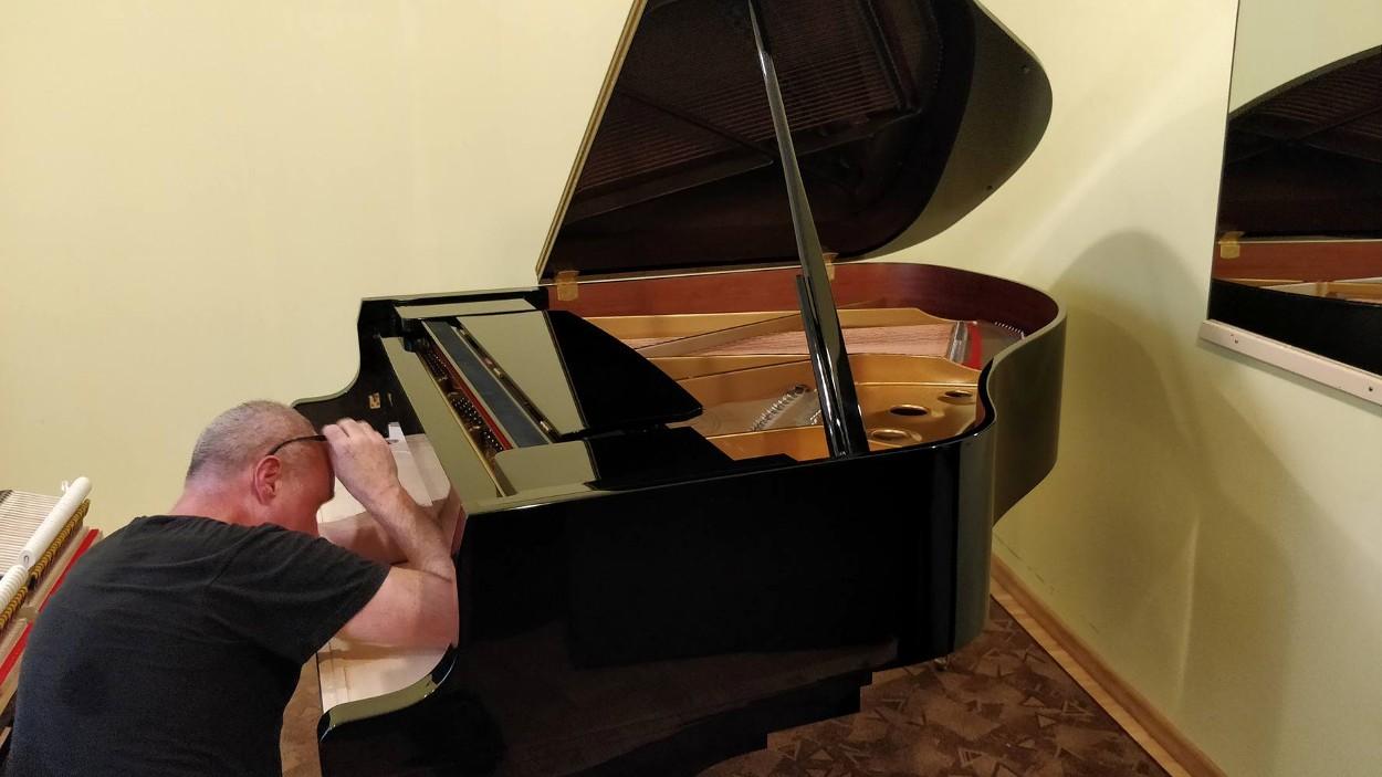 Paide Muusikakool sai annetajate toel uue kabinetklaveri