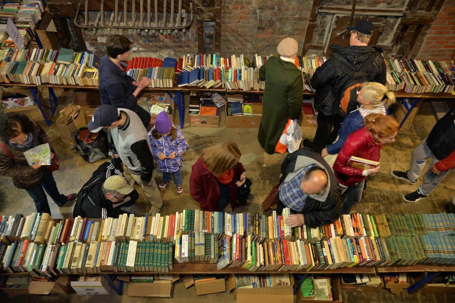 Tasuta raamatute laadal saab kohtuda mitmete kultuuritegelastega