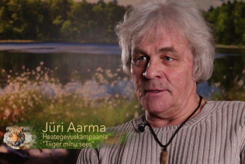 """VIDEO! """"Tiiger minu sees!"""": Jüri Aarma sõnul seisneb tiigriks olemine samurailikkuses"""