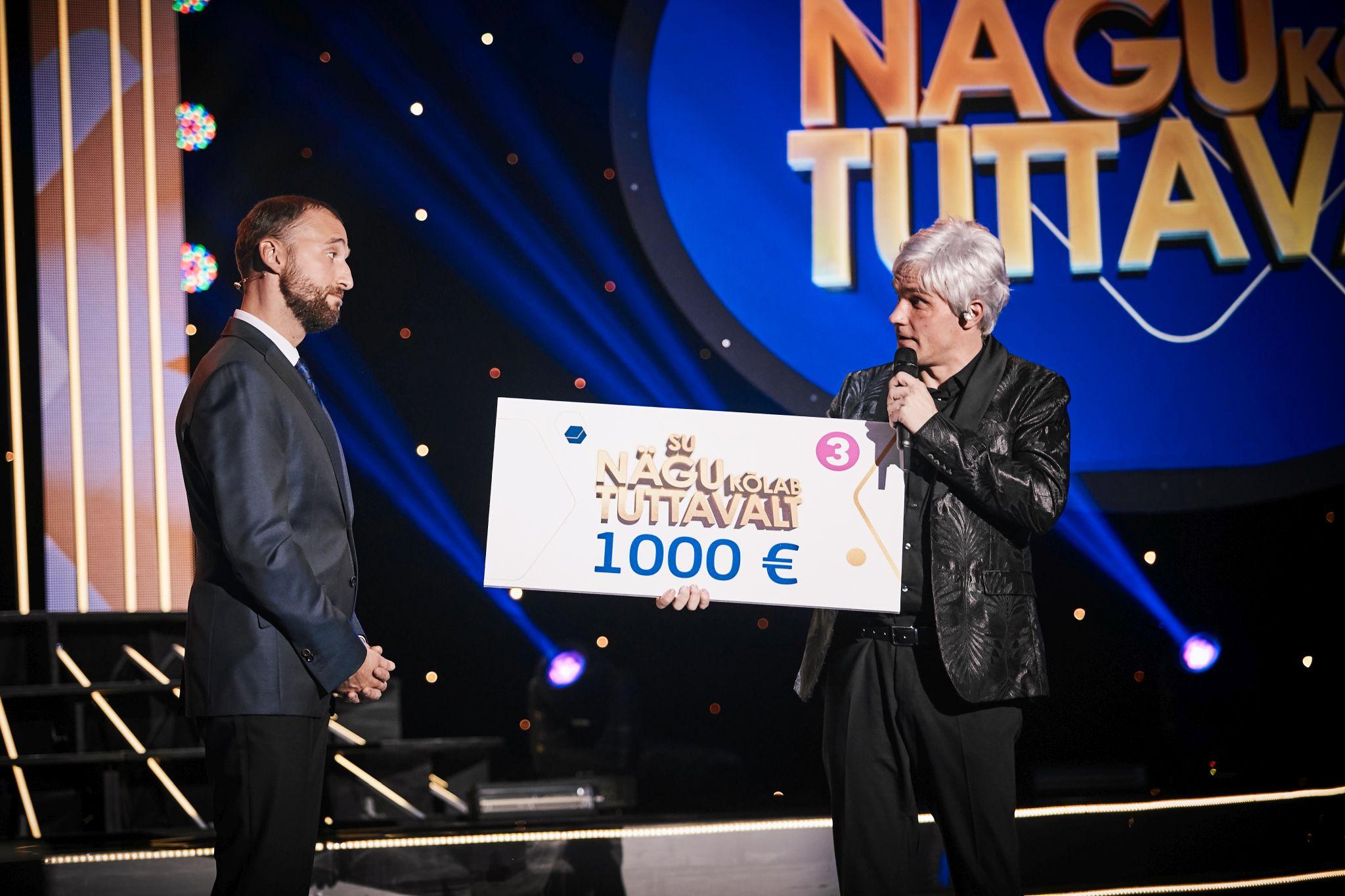 Näosaate kuuenda saate võitis Ott Lepland! Ott annetas 1000 eurot Eesti Vähihaigete Laste Vanemate Liidule