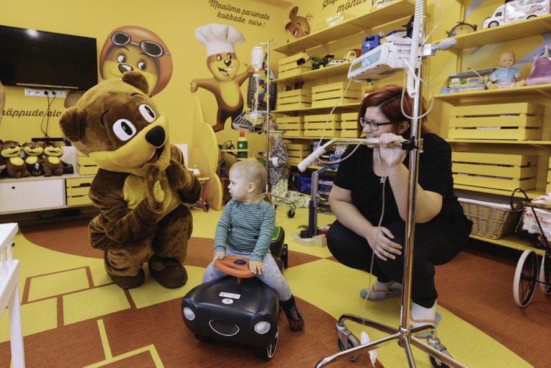 Mesikäpa heategevuskampaania käigus koguti heade inimeste abil vähihaigete laste toetuseks 25 511 eurot