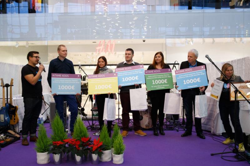Ülemiste heategevuslik jõululaat tõi kokku üle Eesti 17 lastekodu