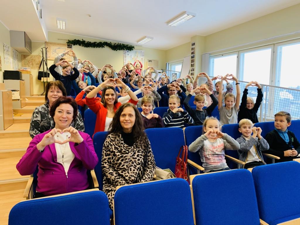 Saue Gümnaasiumi lapsed annetasid Tiigriorule 2645 eurot