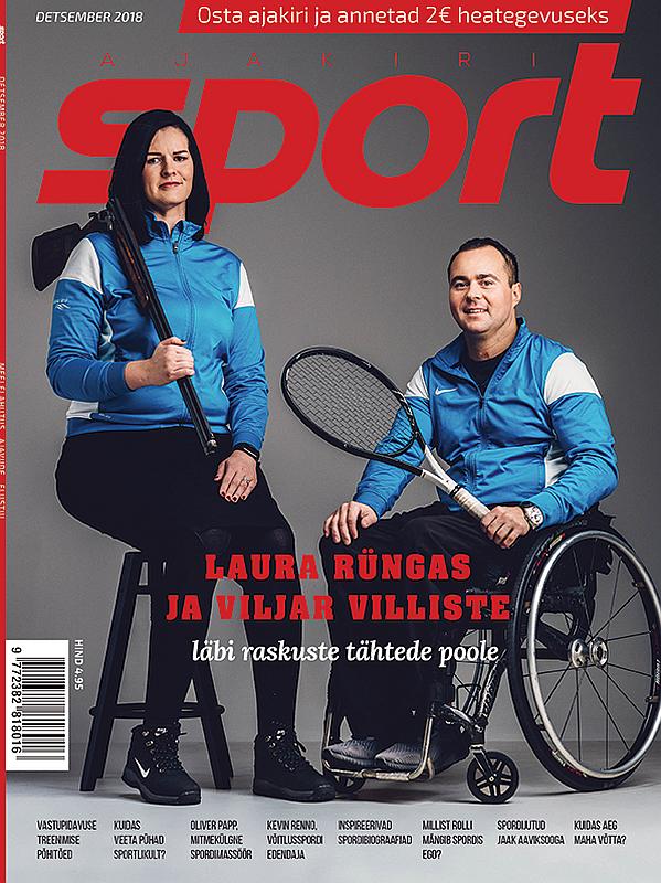 Aita ratastoolis Laural ja Viljaril sporti teha!