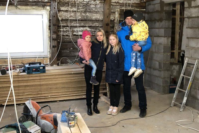 """VIDEO! """"Inglite aeg""""! Tulekahjus maja kaotanud Taivo pere unistab oma kodu taastamisest"""