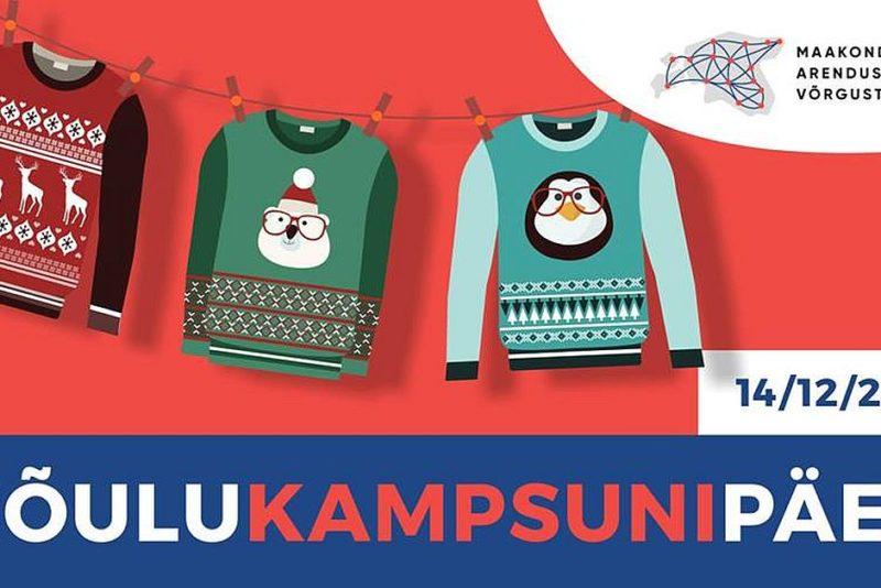 Jõulukampsuneid kandes kutsutakse head tegema