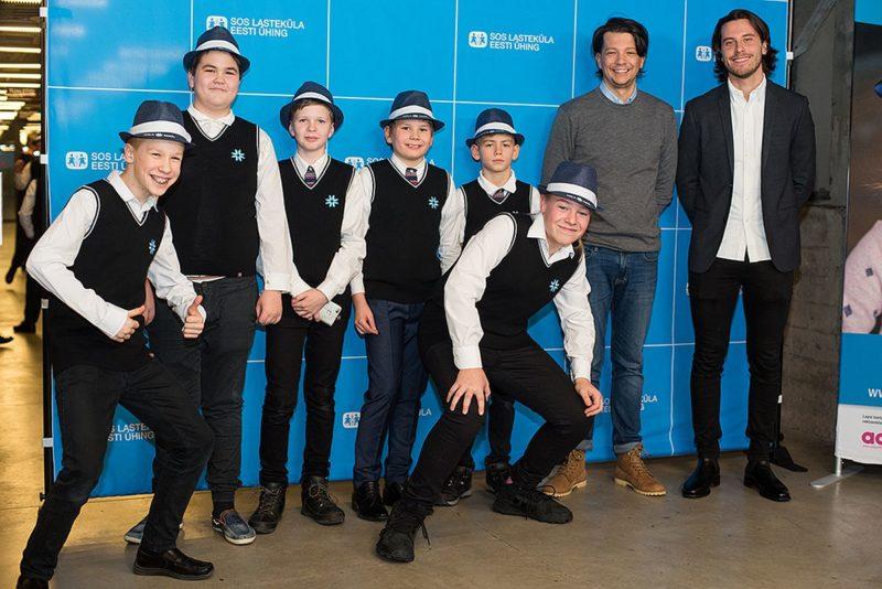 Stig Rästa sai SOS Lasteküla hea tahte saadikuks
