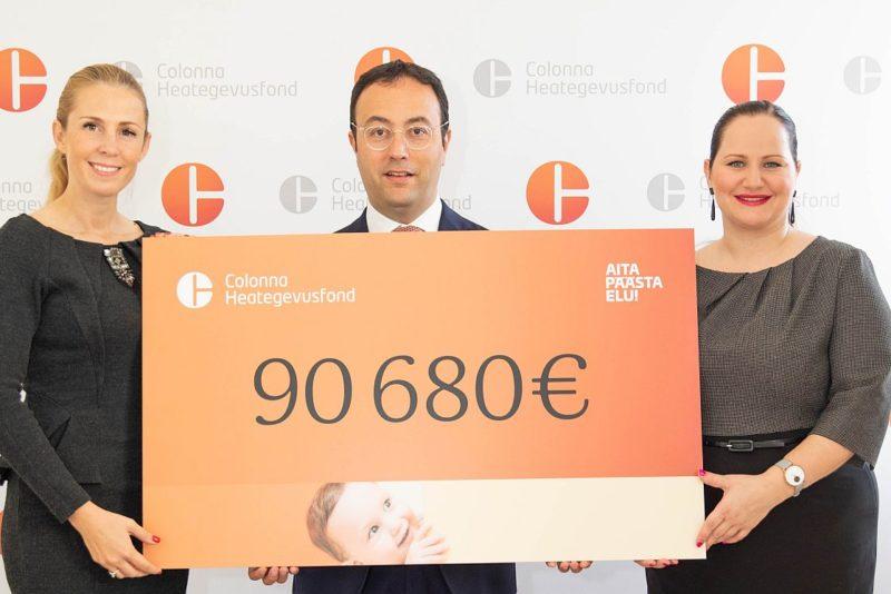 Colonna ja ITK kogusid üle 90 000 euro