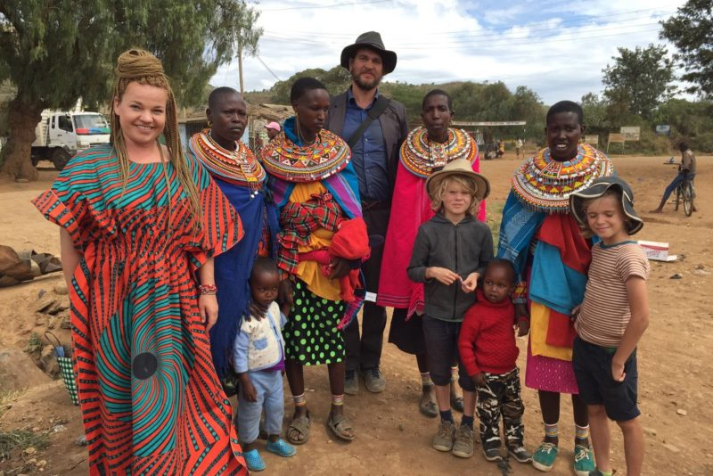 Tuuli Roosma kogub Samburu hõimu tüdrukute turvakodule toetusi!