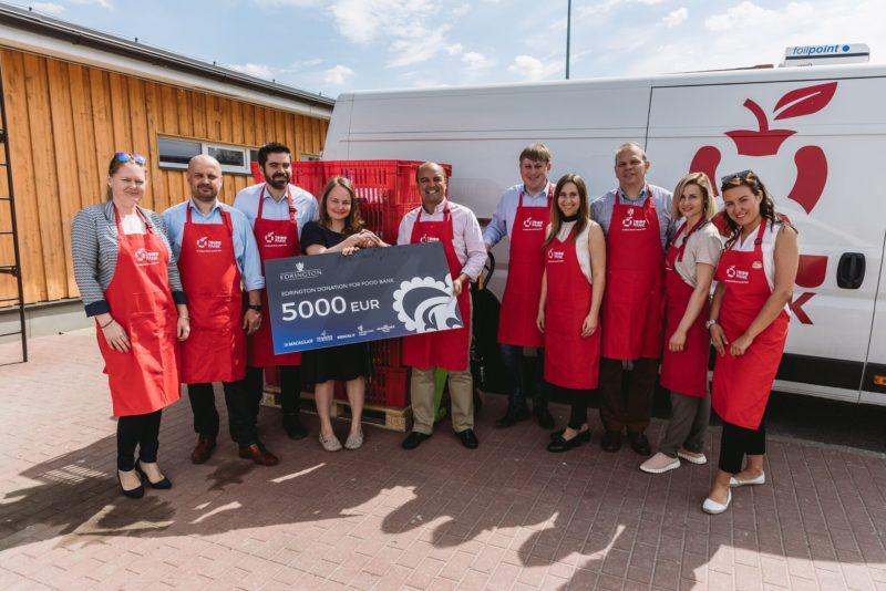 Šoti firma toetab Eesti Toidupanka