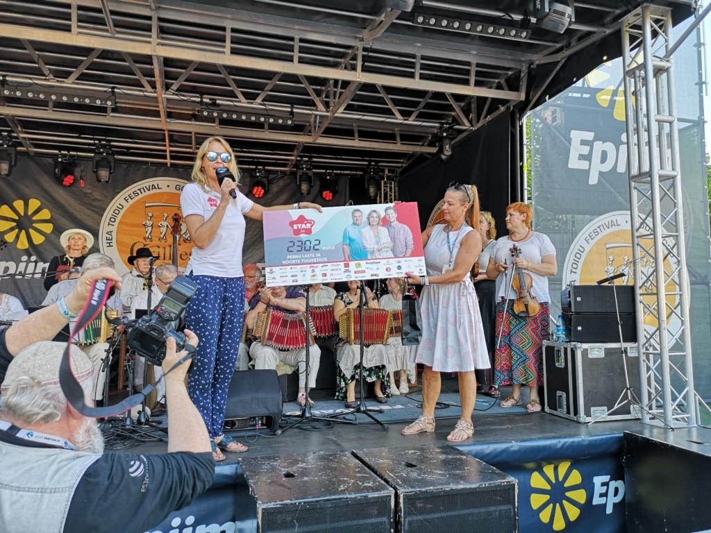 HEATEGEVUS ROKIB I Star FM kogus Grillfestil lastele turvatunde loomiseks rekordilised 3229 eurot!