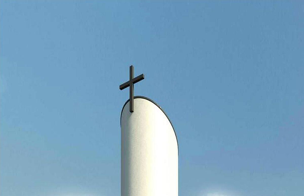 Jõgevale ehitatavasse luteri koguduse kirikusse saab soetada nimelise trepiastme
