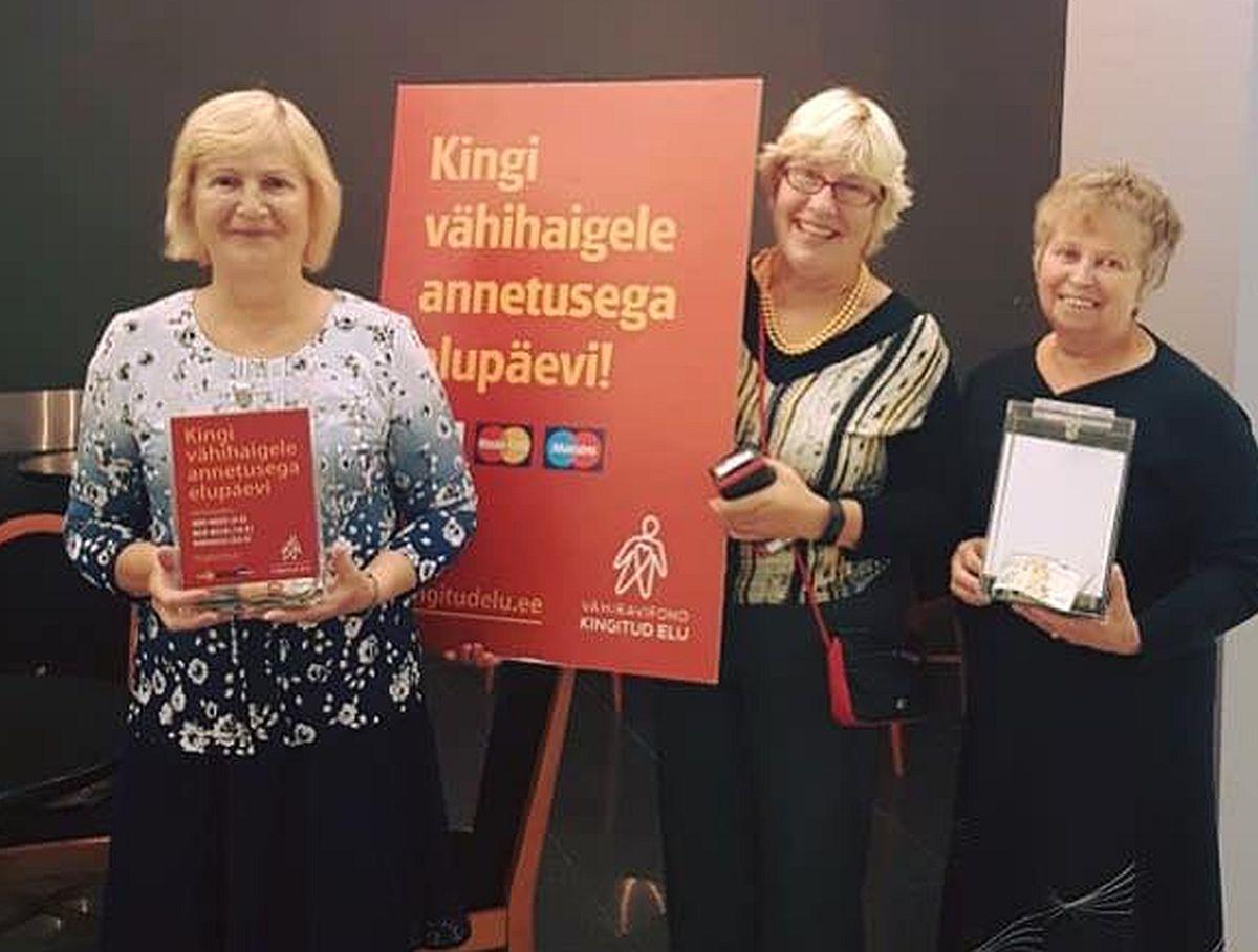 Vähiravifondi annetuskasti poetati rahatähti Uus-Meremaalt, Lõuna-Koreast ja Makedooniast