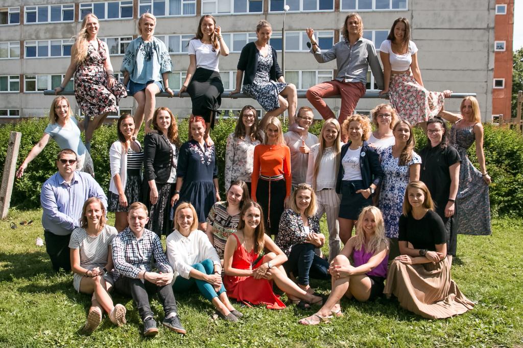 Noored Kooli 13. lennu osalejad, kes alustasid tööd õpetajana 2019. a septembris (1)
