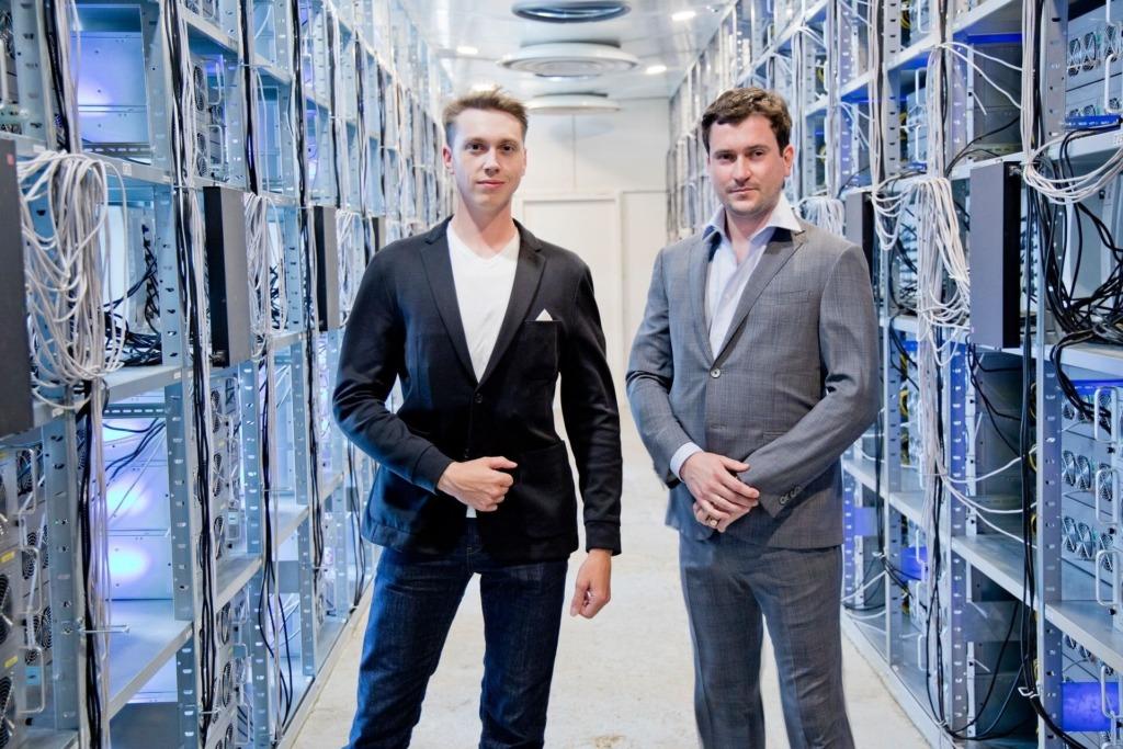 Burfa Tech OÜ tootejuht Vitali Pavlov ja juhatuse liige Ivan Turõgin