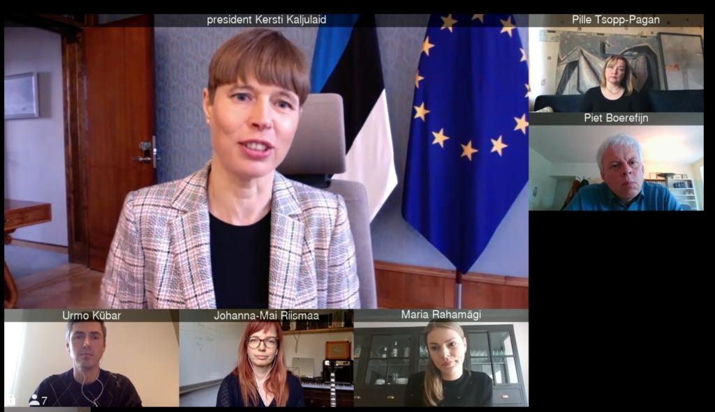 VESTLUS PRESIDENDIGA I Heategevusorganisatsioonidel avanes täna võimalus vestelda president Kersti Kaljulaidiga