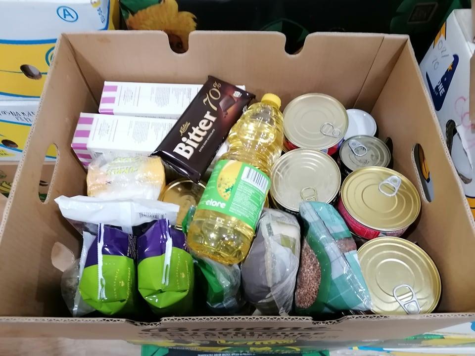 TOIDUABI I Haabersti linnaosas saab Euroopa Liidu toiduabi ligi 600 inimest
