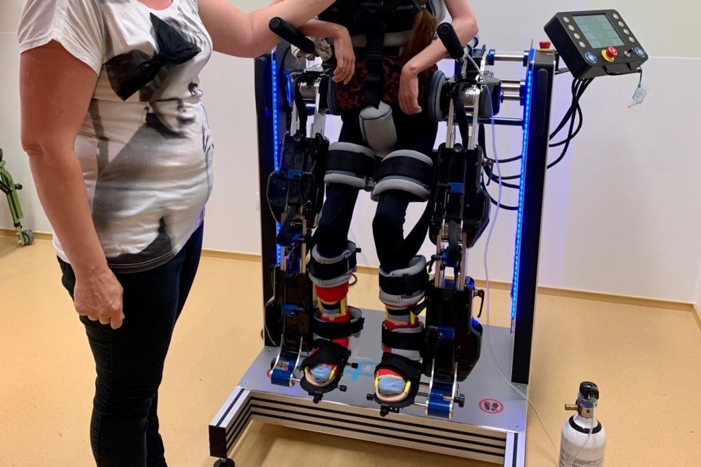 Kõnnirobot lastele Pärnus