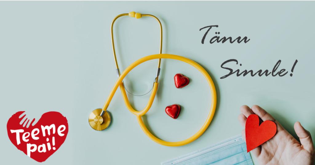 Õdede ja hooldustöötajate tänamiseks loodud kampaania kogus nädalaga üle 270 000 euro annetusi!
