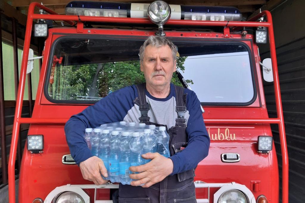 Hüüru vabatahtlik päästekomando Mati Leivategija